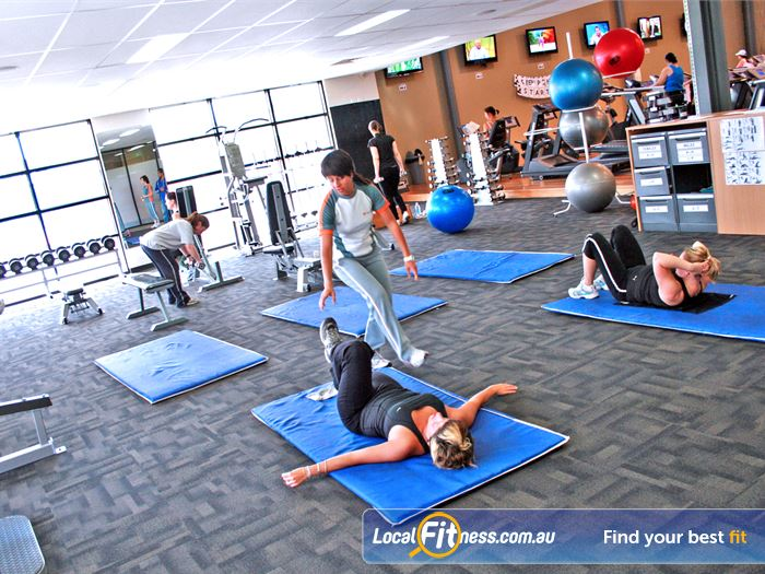 Windy Hill Fitness Centre Abs Stretch Area Essendon Amazing Views Of The Essendon Football Oval