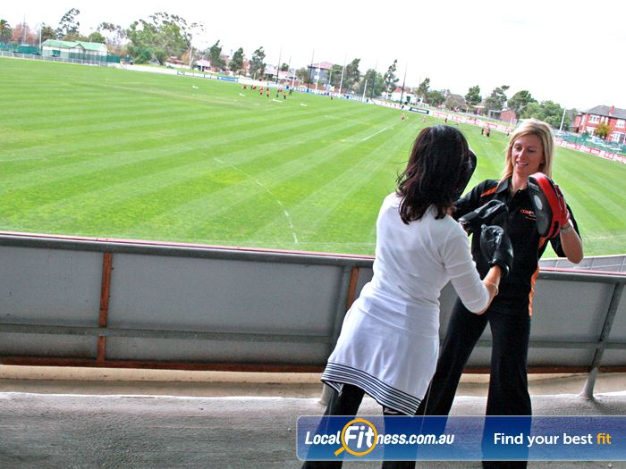 Windy Hill Fitness Centre Outdoor Training Essendon Enjoy A Personalised Session In The Stands