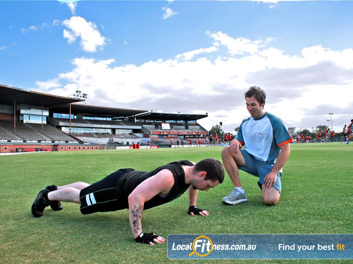 Windy Hill Fitness Centre Personal Training Near Strathmore Train On The Same Field As Many
