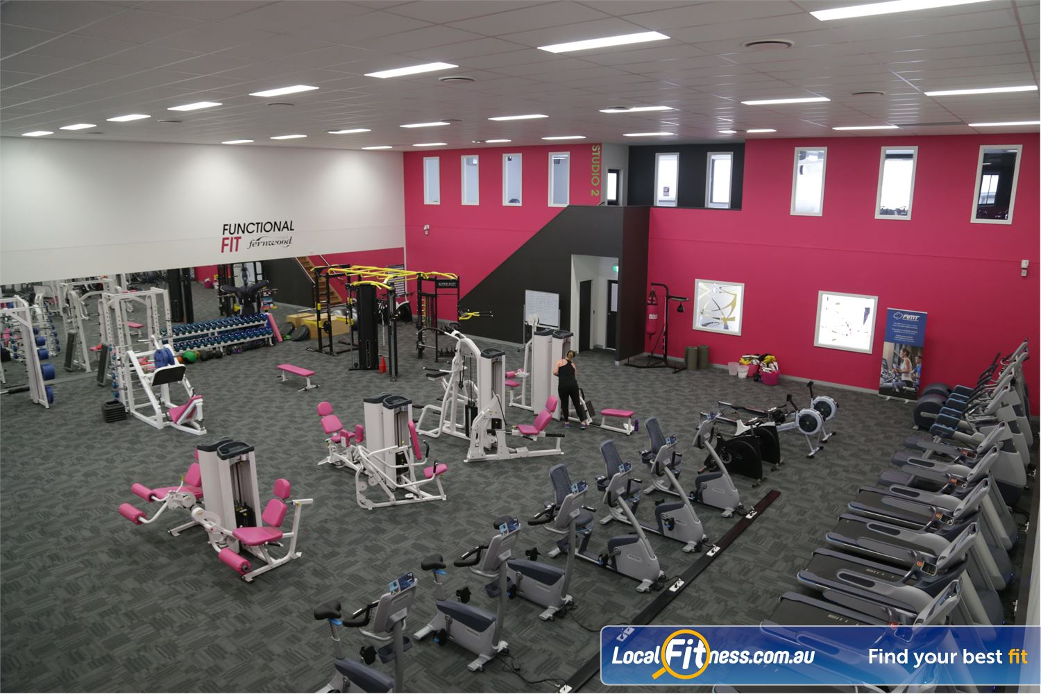 Fernwood Fitness Shepparton Welcome to the bigger and brighter Fernwood Shepparton 24 hour gym.