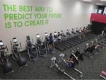 Comprehensive cardio selection with treadmills, cross trainers, rowers