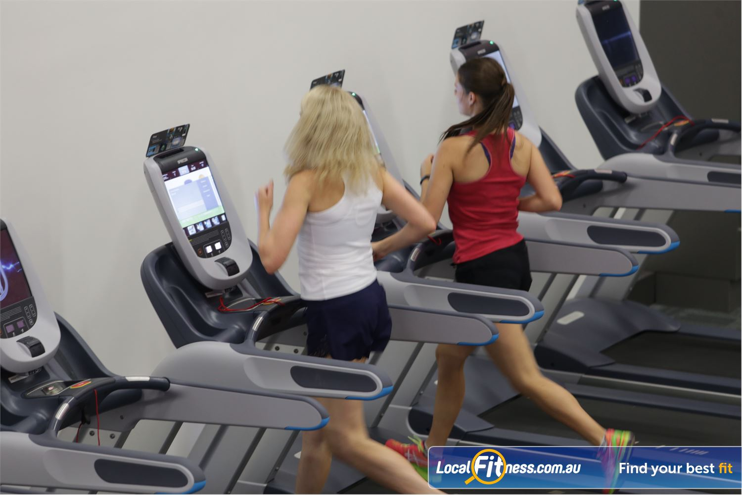 Fernwood Fitness Near Kialla State of the art cardio equipment with 24 hour Shepparton gym access.