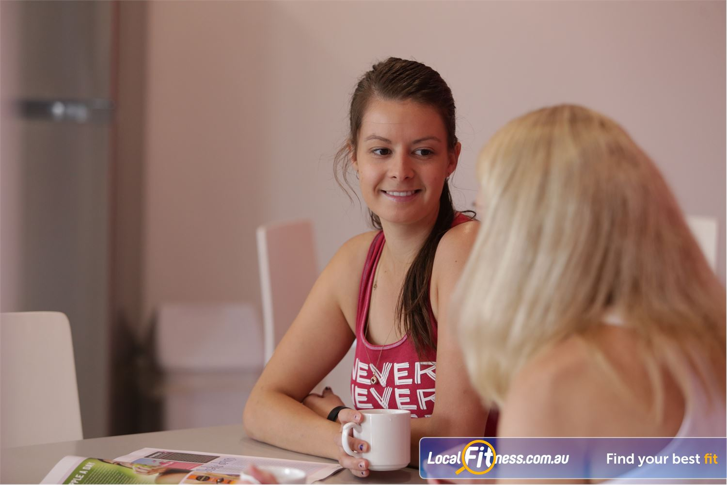 Fernwood Fitness Near Grahamvale Getto know our members in the members lounge.