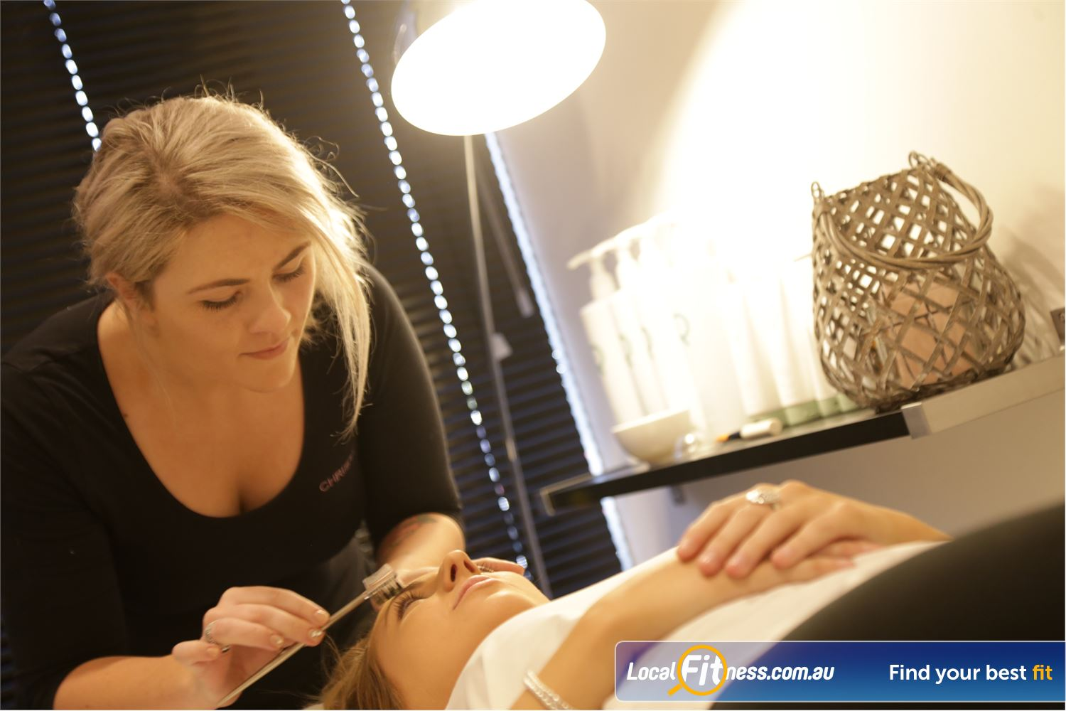 Fernwood Fitness Shepparton On-site beautician to compliment the new you.