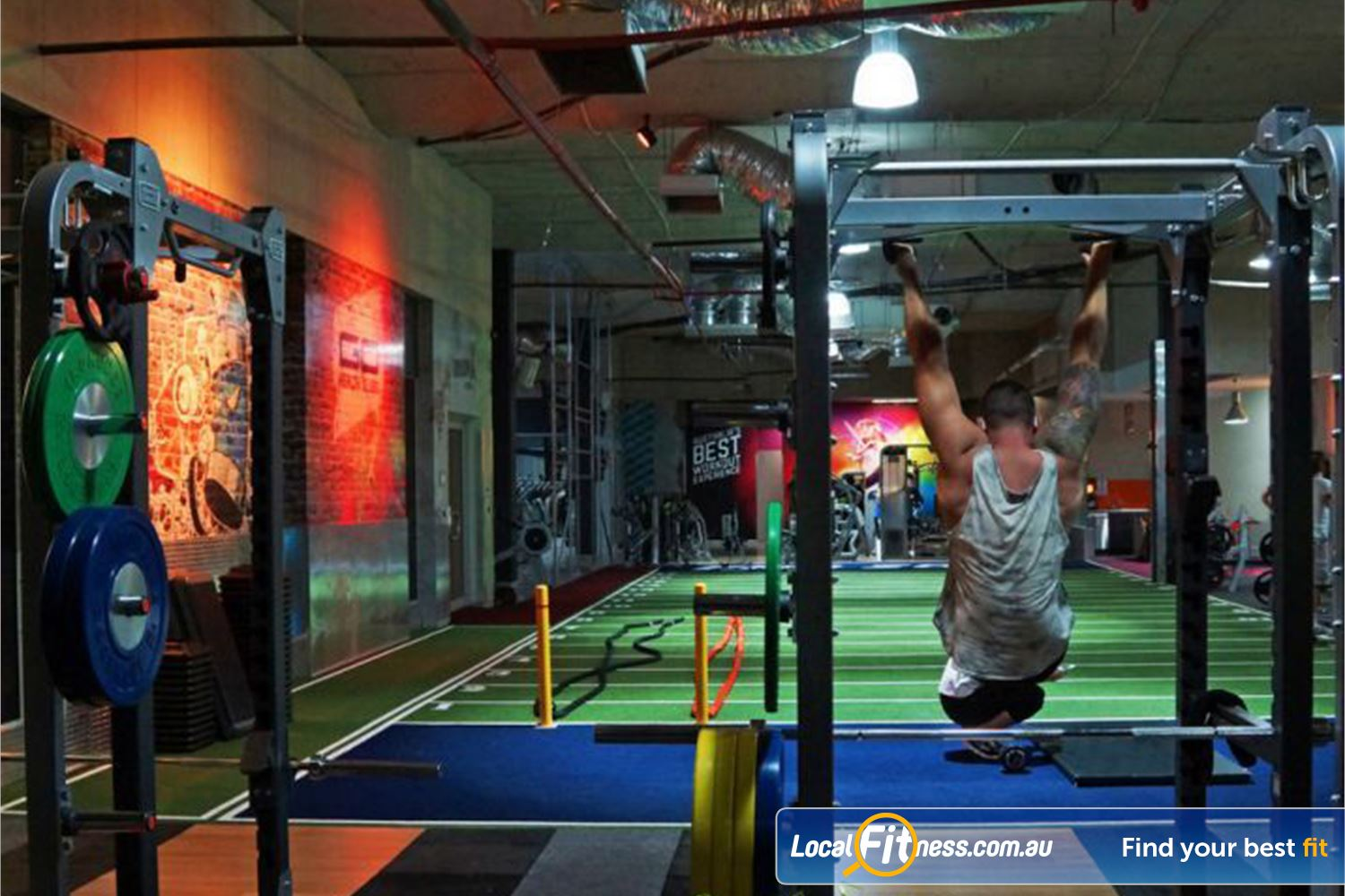 Goodlife Health Clubs Beenleigh Our Beenleigh gym is fully equipped for strength training.