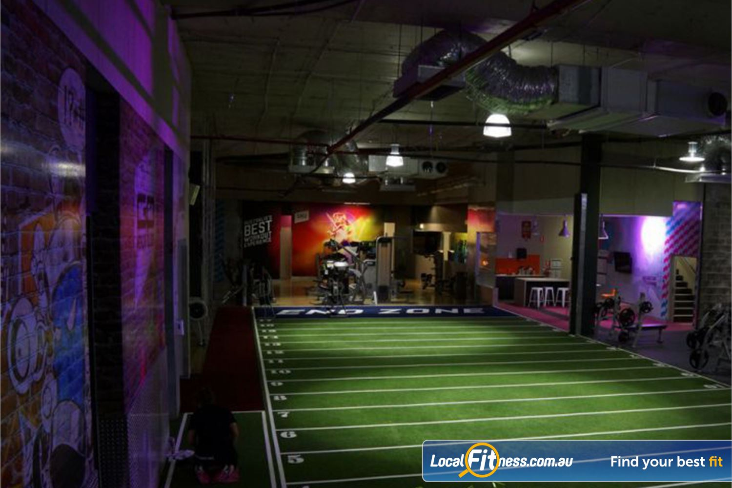Goodlife Health Clubs Near Holmview The dedicated functional training and Beenleigh HIIT gym space.