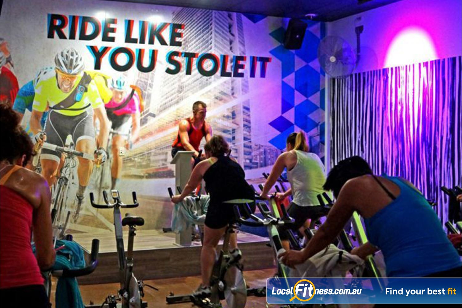 Goodlife Health Clubs Near Eagleby Our dedicated Beenleigh cycle studio.