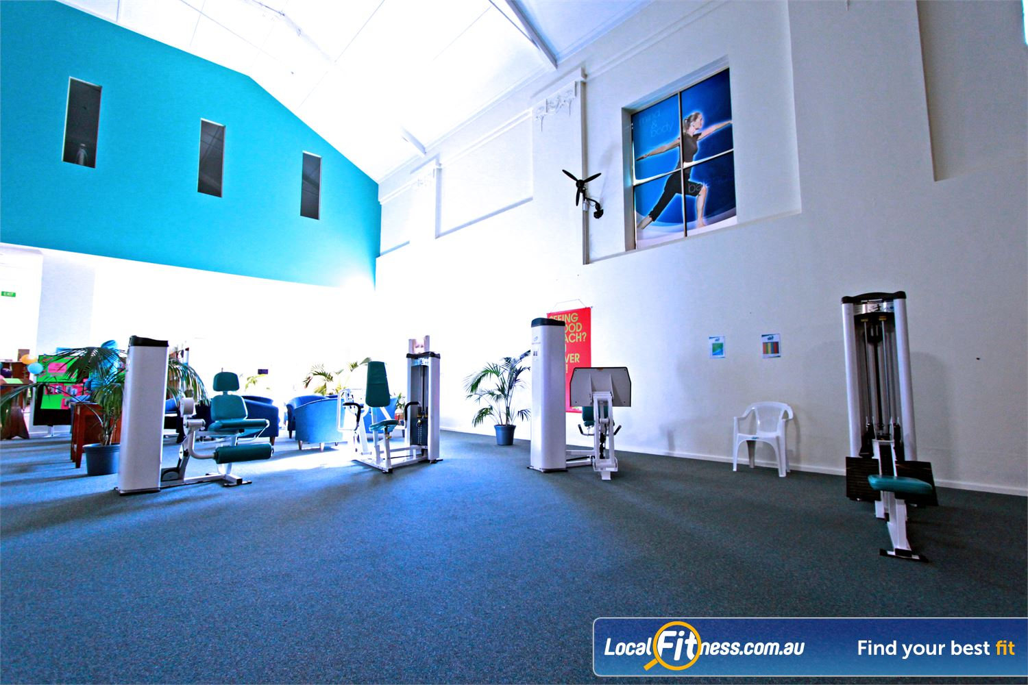 Fernwood Fitness Woonona Our Woonona women's gym provides a spacious 2 level training facility with a heritage feel.