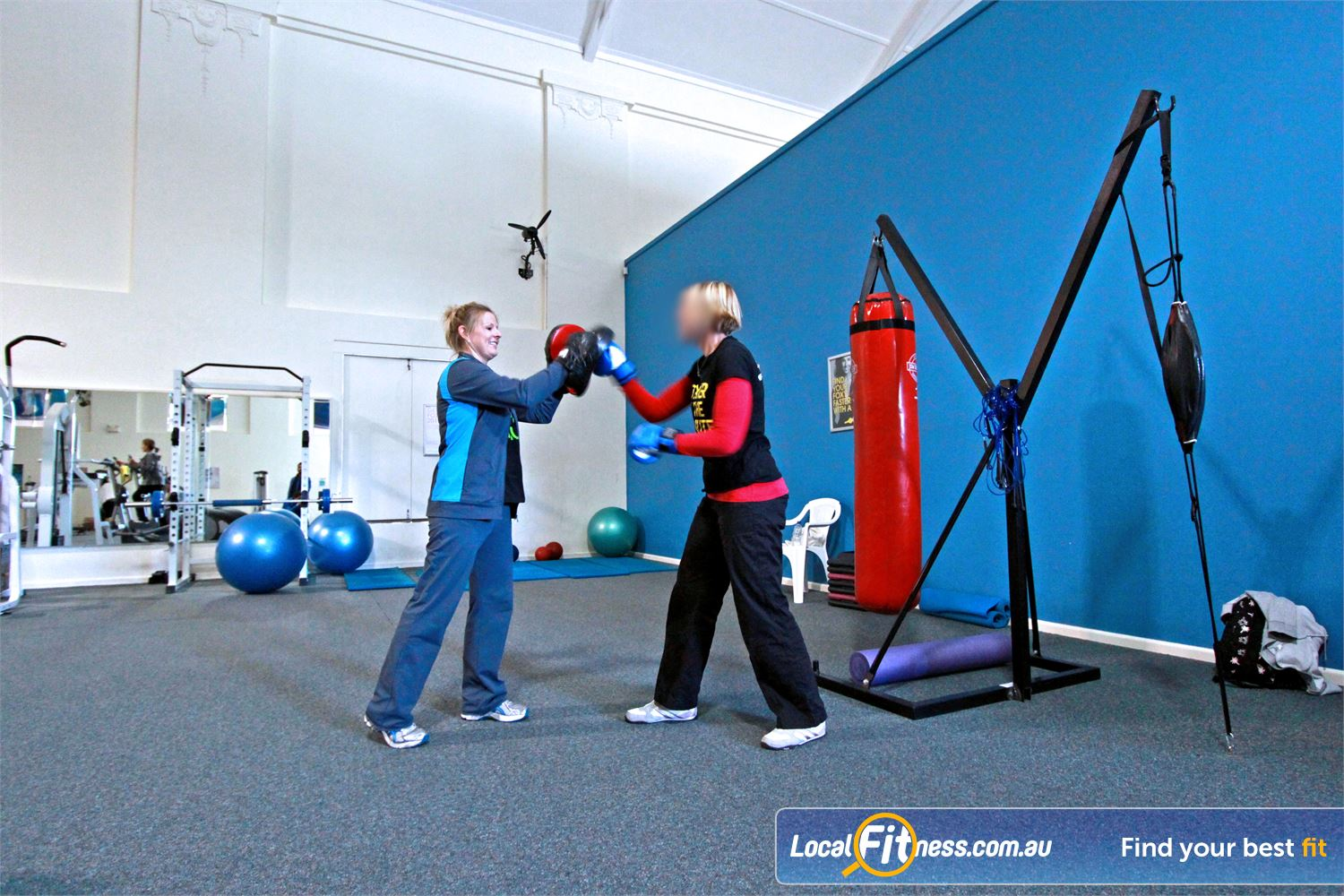 Fernwood Fitness Near Bellambi Fernwood Woonona gym instructors can incorporate cardio boxing into your session.