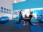Fernwood Woonona provides a fully equipped stretching area