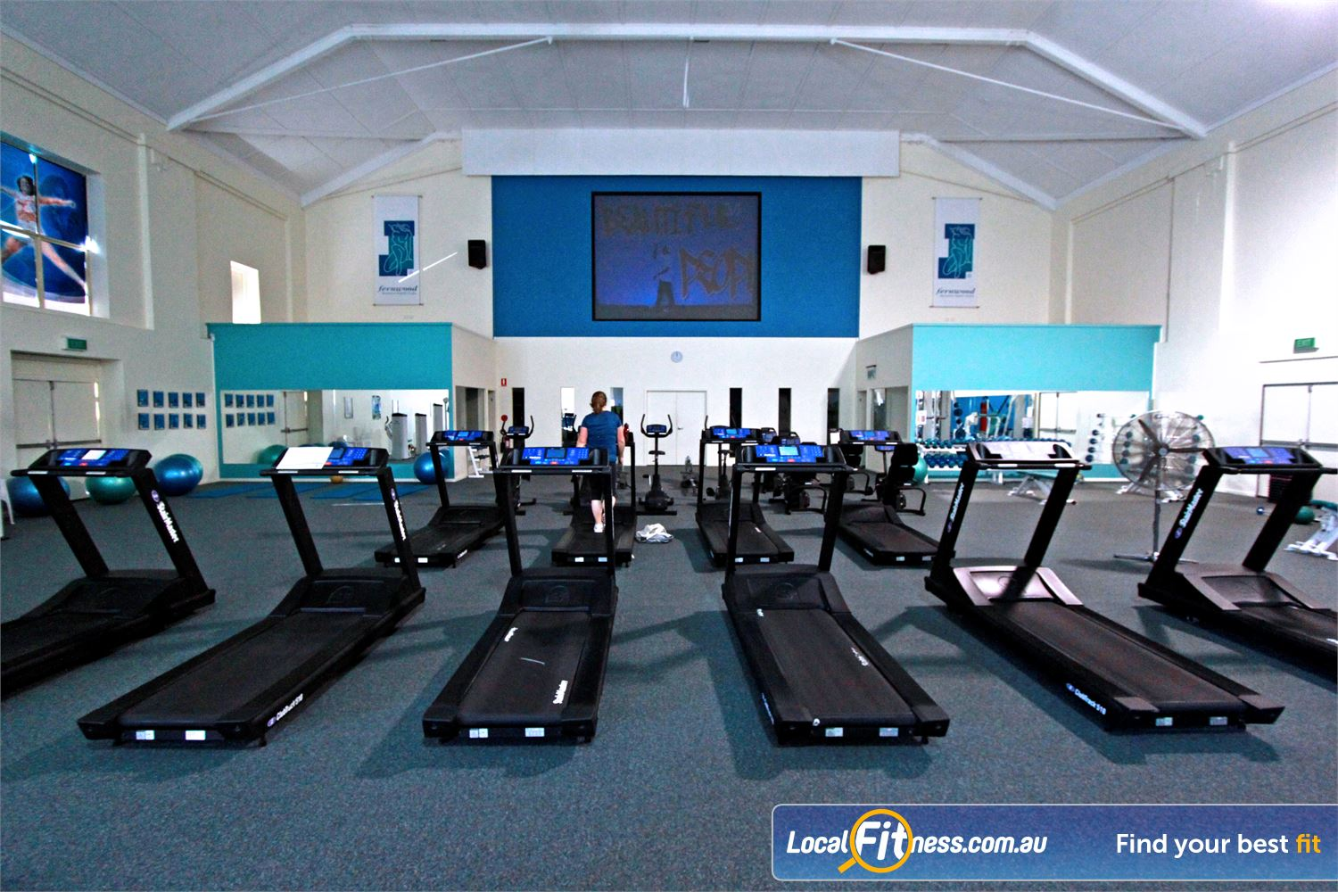 Fernwood Fitness Near East Corrimal Our Woonona gym provides a unique cardio theatre experience.