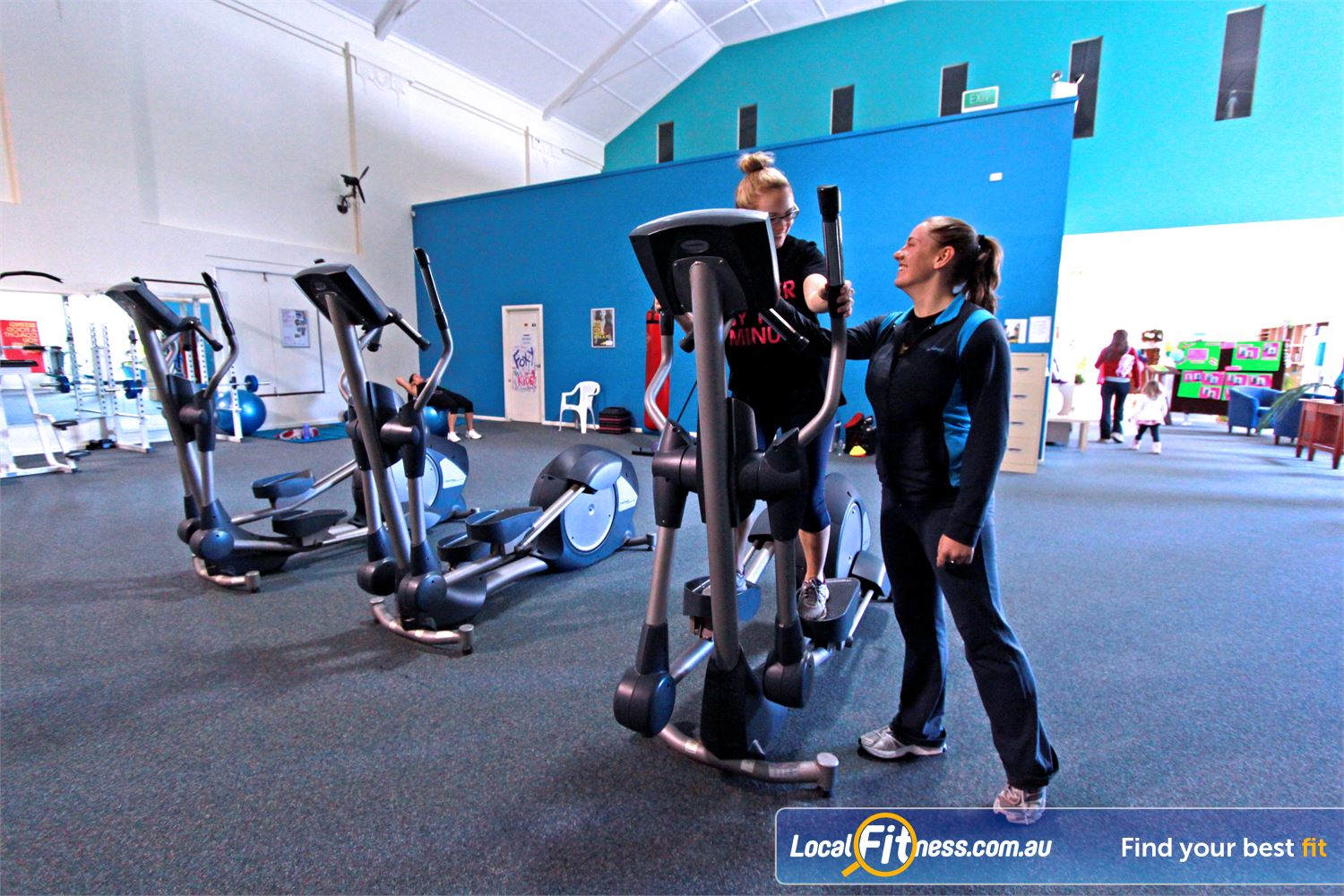 Fernwood Fitness Woonona Fernwood Woonona gym instructors can help you with cardio and weight management.