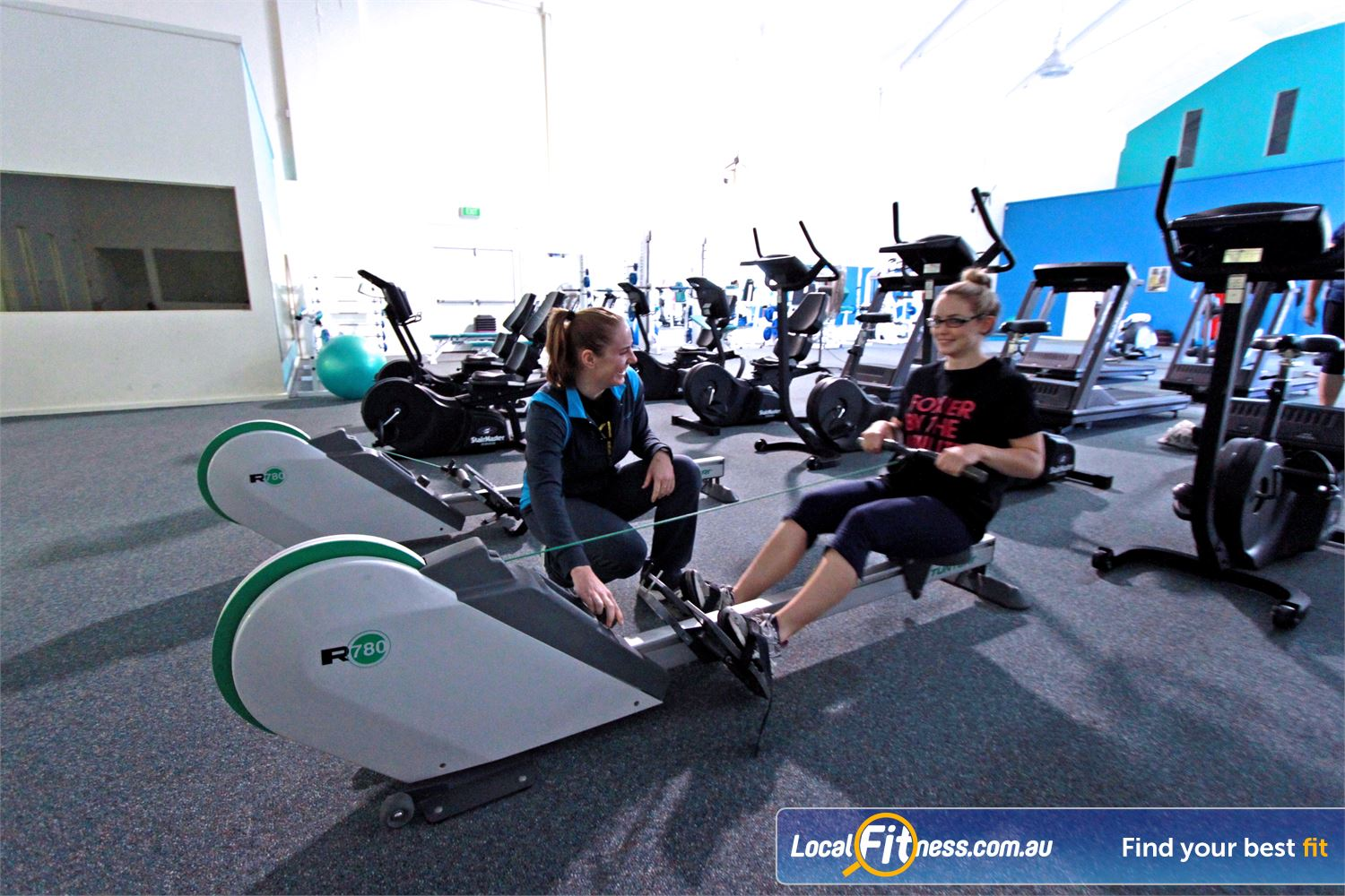 Fernwood Fitness Woonona Vary your cardio workout with indoor rowing in Woonona.