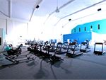 Multiple cardio machines mean less waiting and more