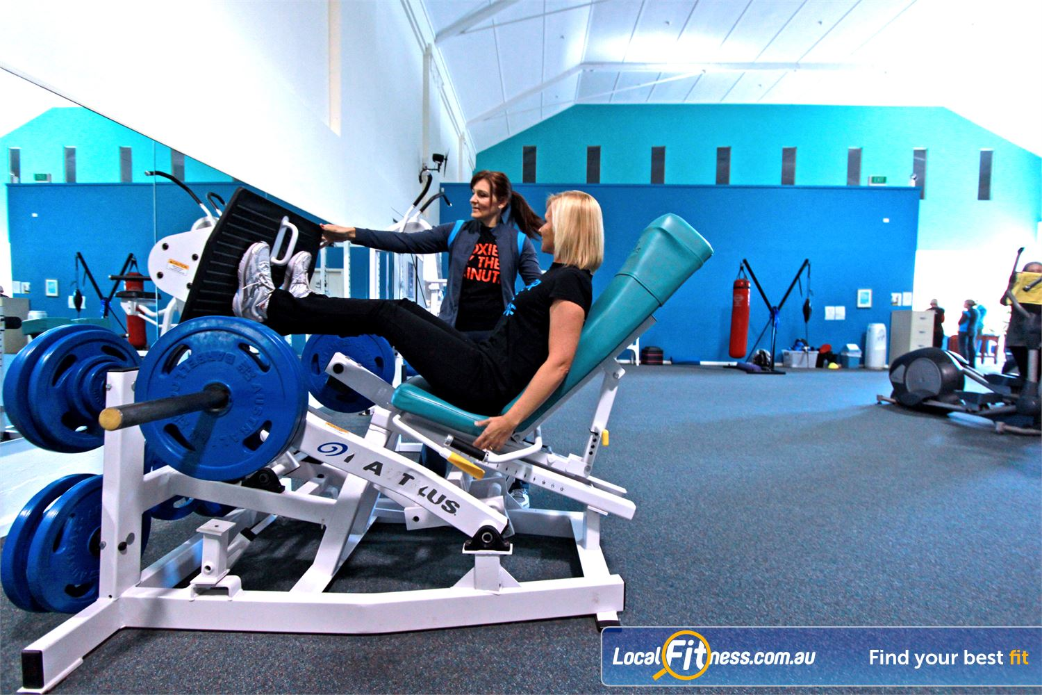 Fernwood Fitness Woonona Our Woonona gym team will help create a strength program to suit your goals.