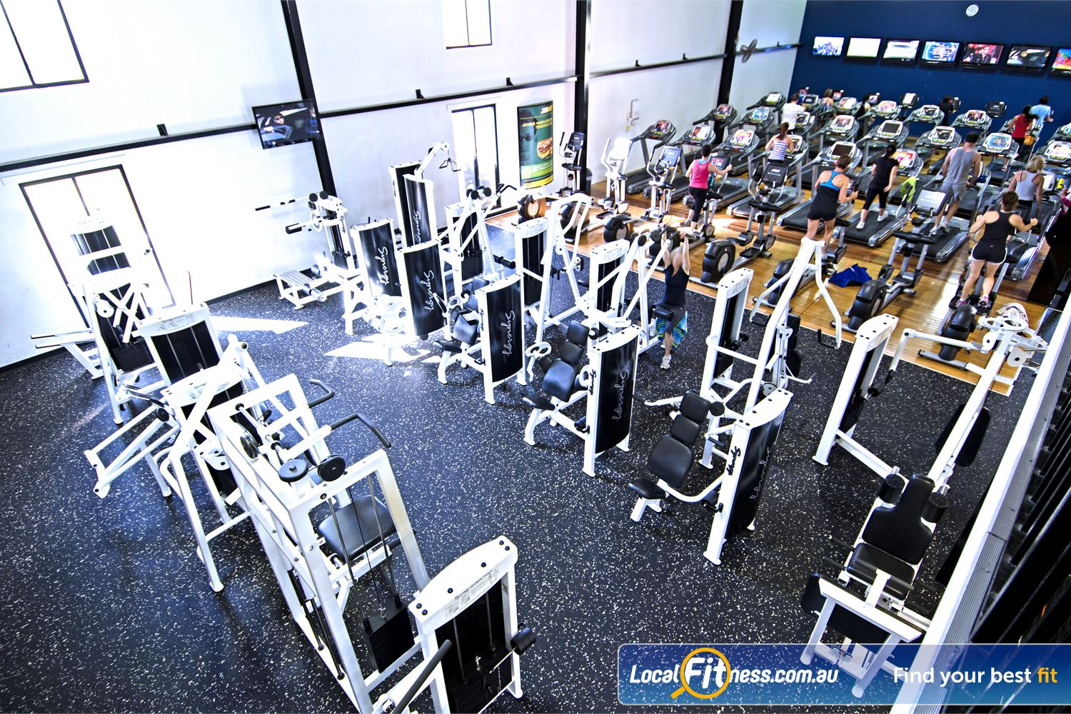 Goodlife Health Clubs Graceville Our Graceville gym was one of the first Goodlife Clubs in Australia.