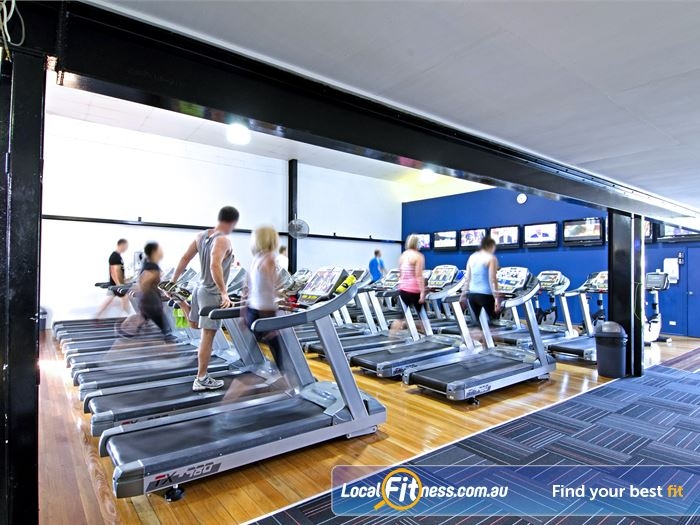 Goodlife Health Clubs Gym Holland Park  | The Graceville gym is fitted with state of