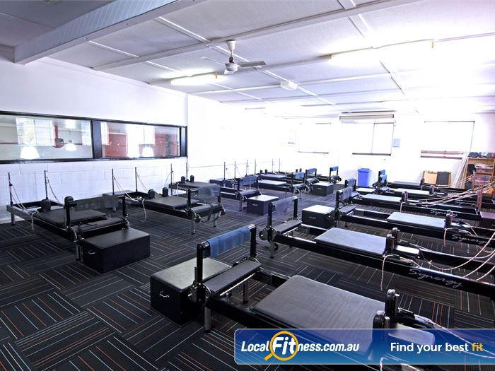 Goodlife Health Clubs Gym Carindale  | Fully equipped and dedicated stretch and abs area.