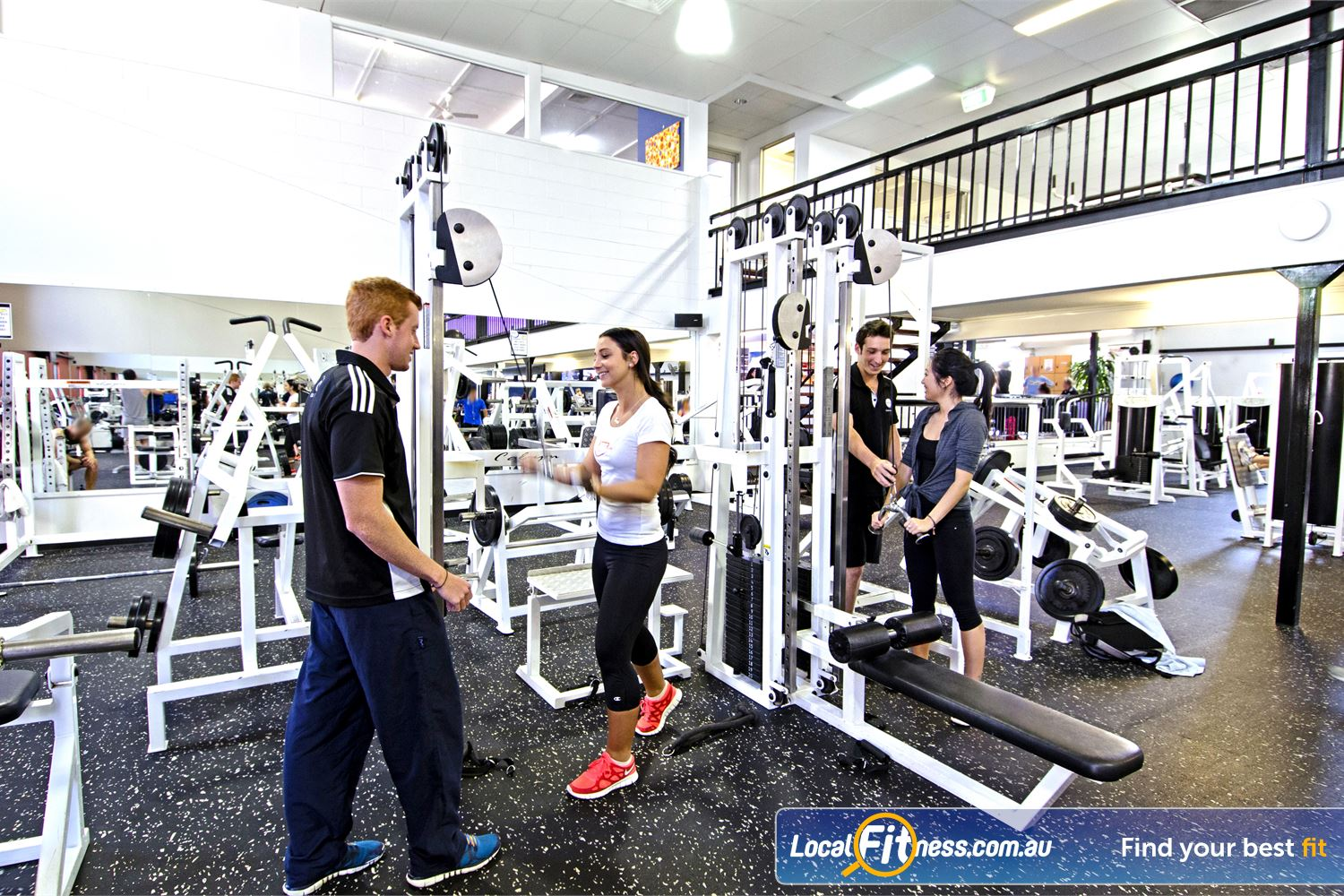 Goodlife Health Clubs Graceville Our Goodlife Graceville team can help design a training programme tailored to your needs.