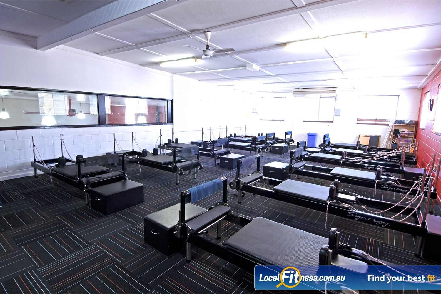 Goodlife Health Clubs Graceville The only Goodlife Health Club in Australia with a Reformer Pilates studio.