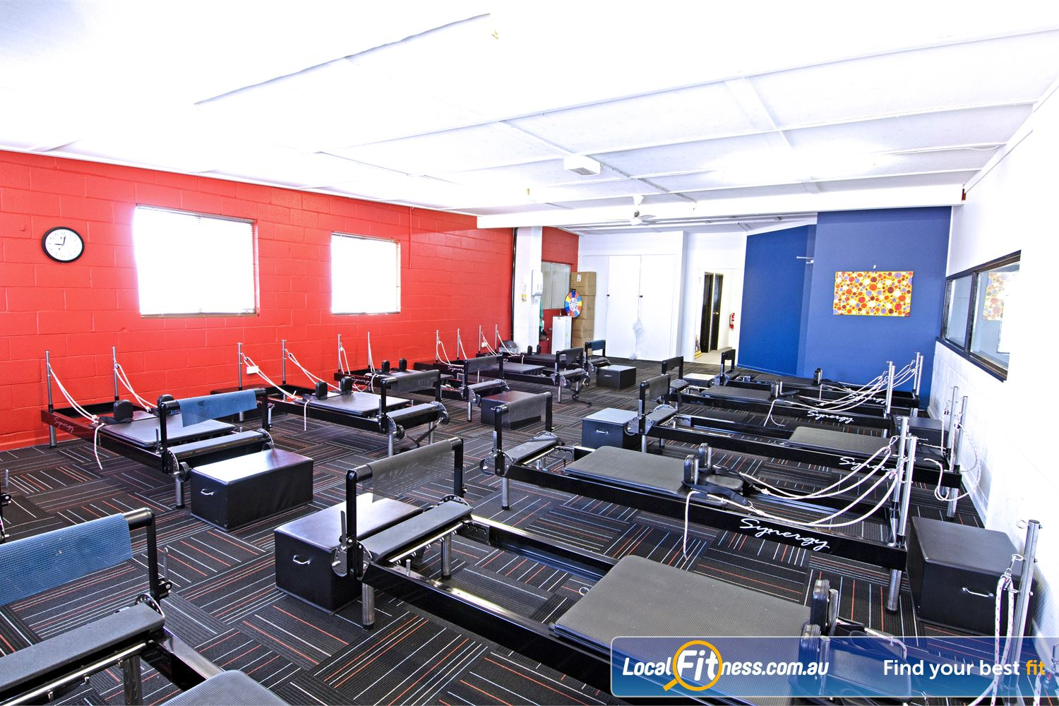 Goodlife Health Clubs Near Sherwood State of the art Graceville Pilates beds from Calgym Synergy.
