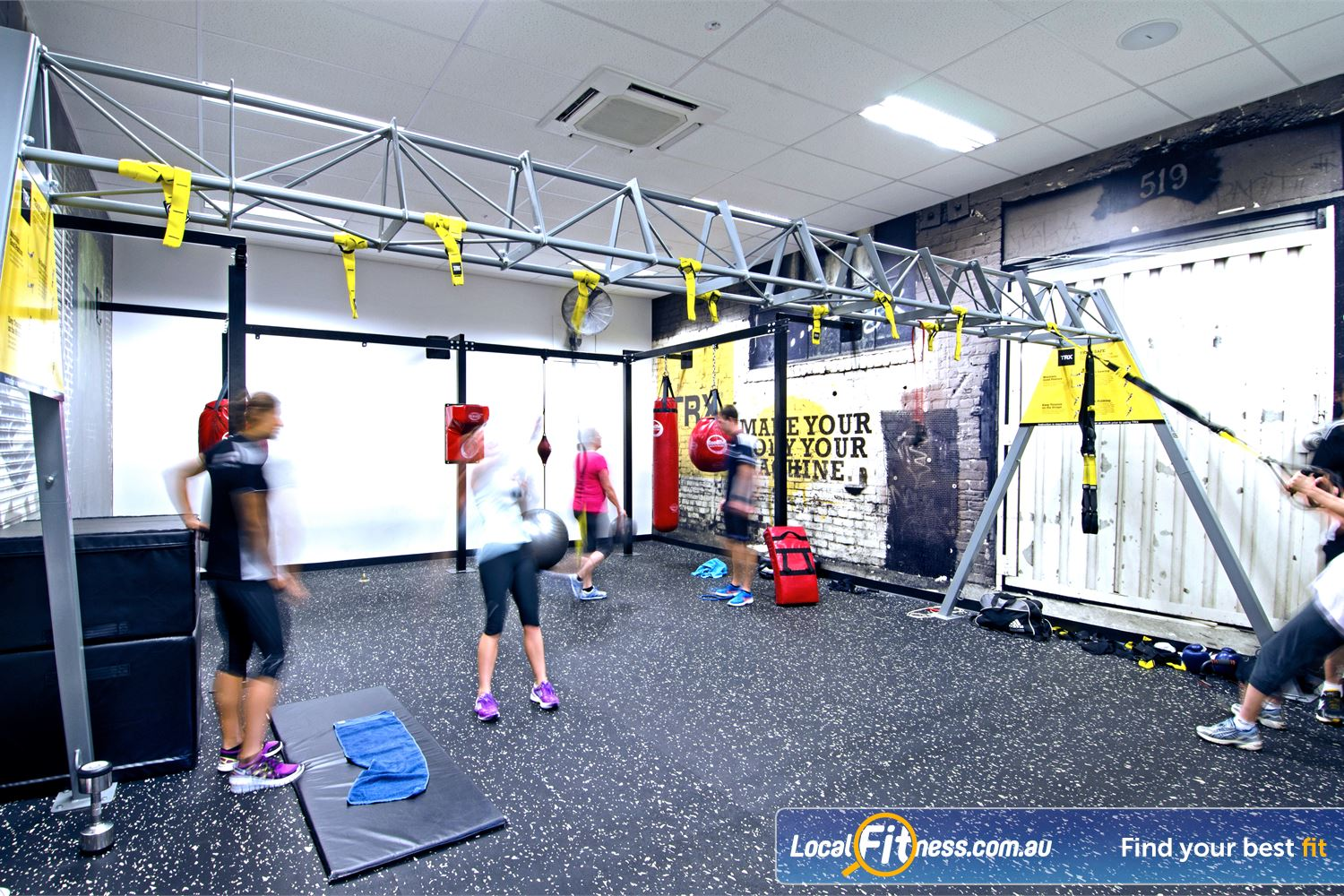 Goodlife Health Clubs Graceville The spacious functional training space at Goodlife Graceville.