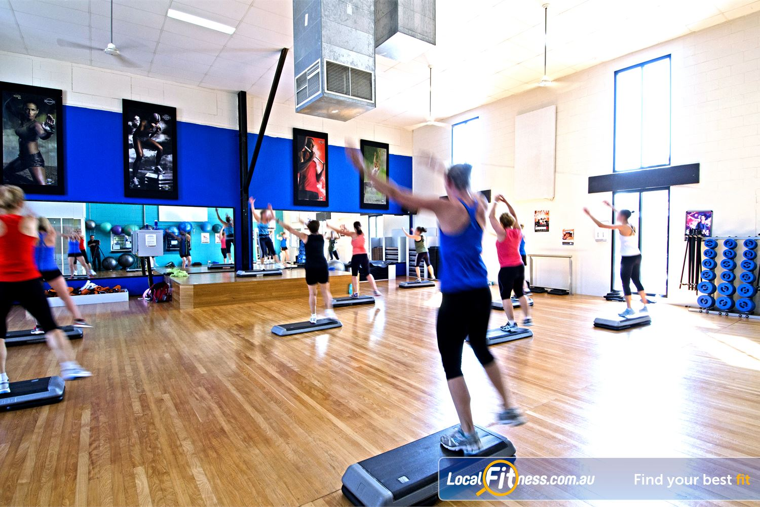 Goodlife Health Clubs Graceville Our inspiring instructors will lead a heart-pumping workout.