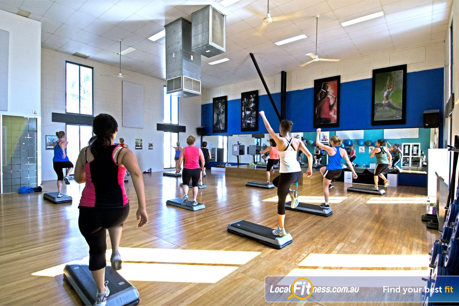 Goodlife Health Clubs Near Tennyson Our group fitness timetable includes relaxing classes such as GracevilleYoga and Pilates.