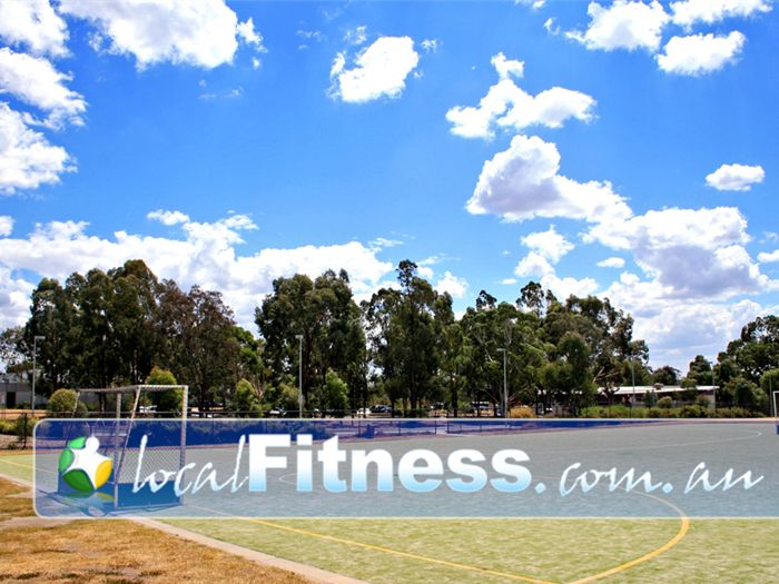 Bundoora Netball & Sports Centre Bundoora Gym Fitness Three quarter size hockey pitch