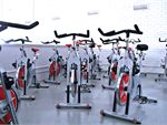 University Fitness Club Geelong Gym Fitness Our new spin bike cycle room.