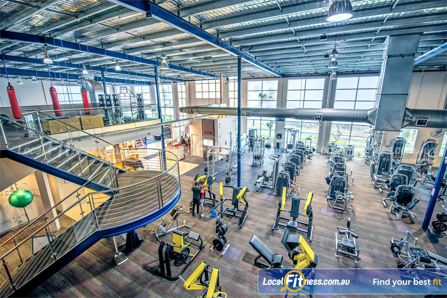 Fitness First Malvern Valley Chadstone Welcome to the multi-level Fitness First 24 hour Chadstone gym in Malvern Valley.