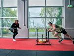Fitness First Malvern Valley Chadstone Gym Fitness Prowler sled training is a