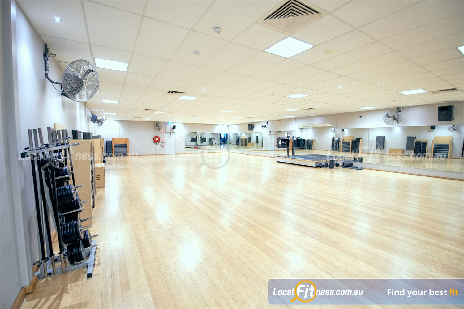 Fitness First Malvern Valley Near Murrumbeena Over 45 classes per week including Malvern Valley Yoga and Pilates.