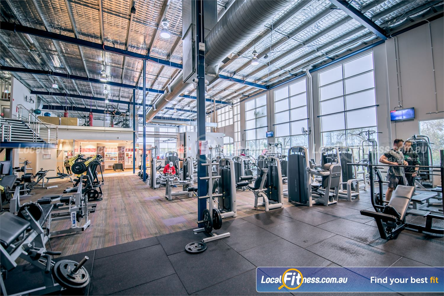 Fitness First Malvern Valley Chadstone Our Chadstone gym includes a full range of easy to use pin-loading equipment.