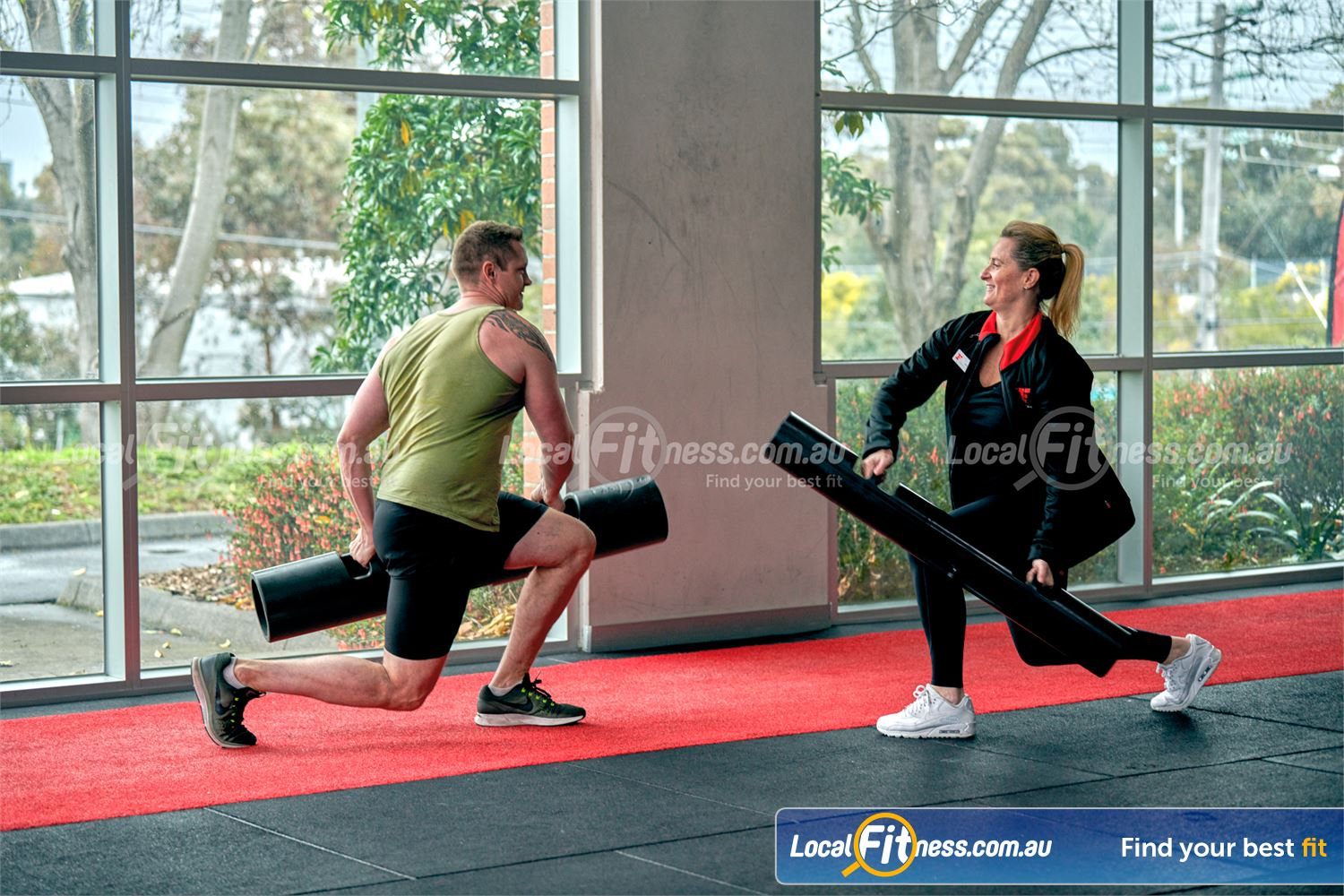 Fitness First Malvern Valley Near Murrumbeena Get a full body workout with ViPR training in Chadstone.