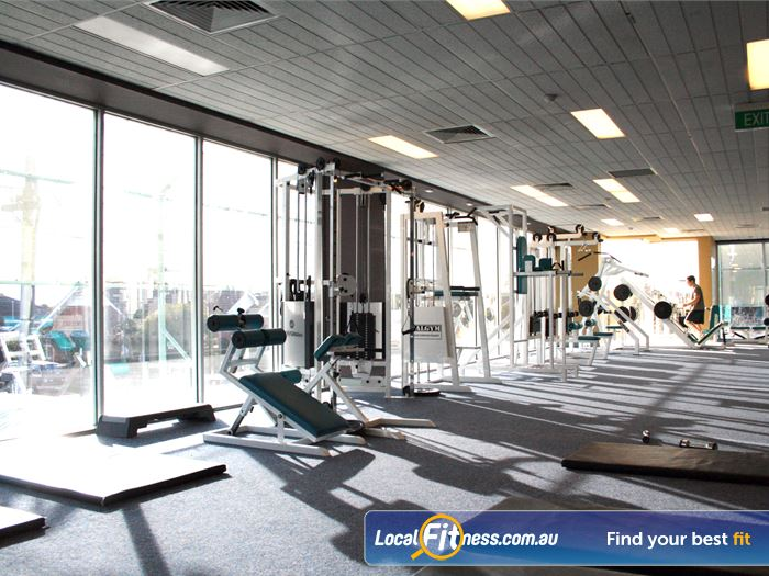 Genesis Fitness Clubs Gym Brighton East  | Natural lighting with perfect views overlooking the Caulfield