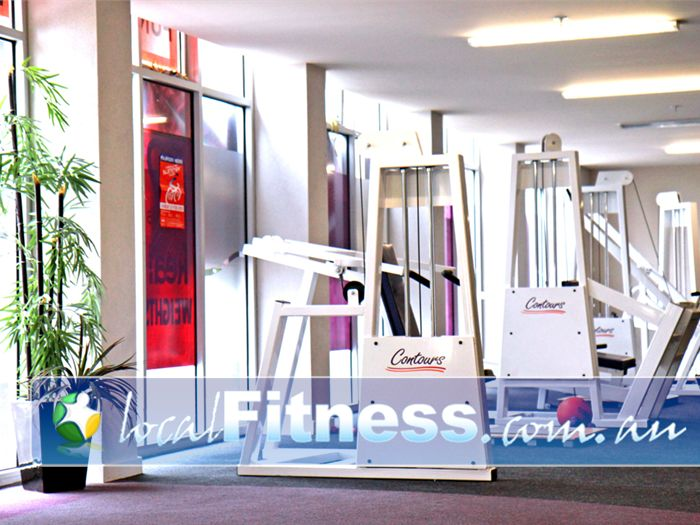 Contours Aspendale Gardens Contours Aspendale Gardens gym equipment is designed for women.