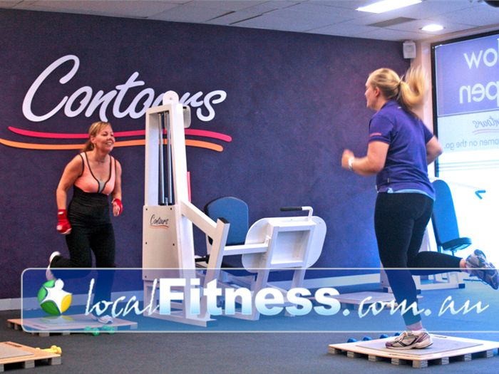 Contours Near Waterways A small and intimate weight-loss gym for ladies.