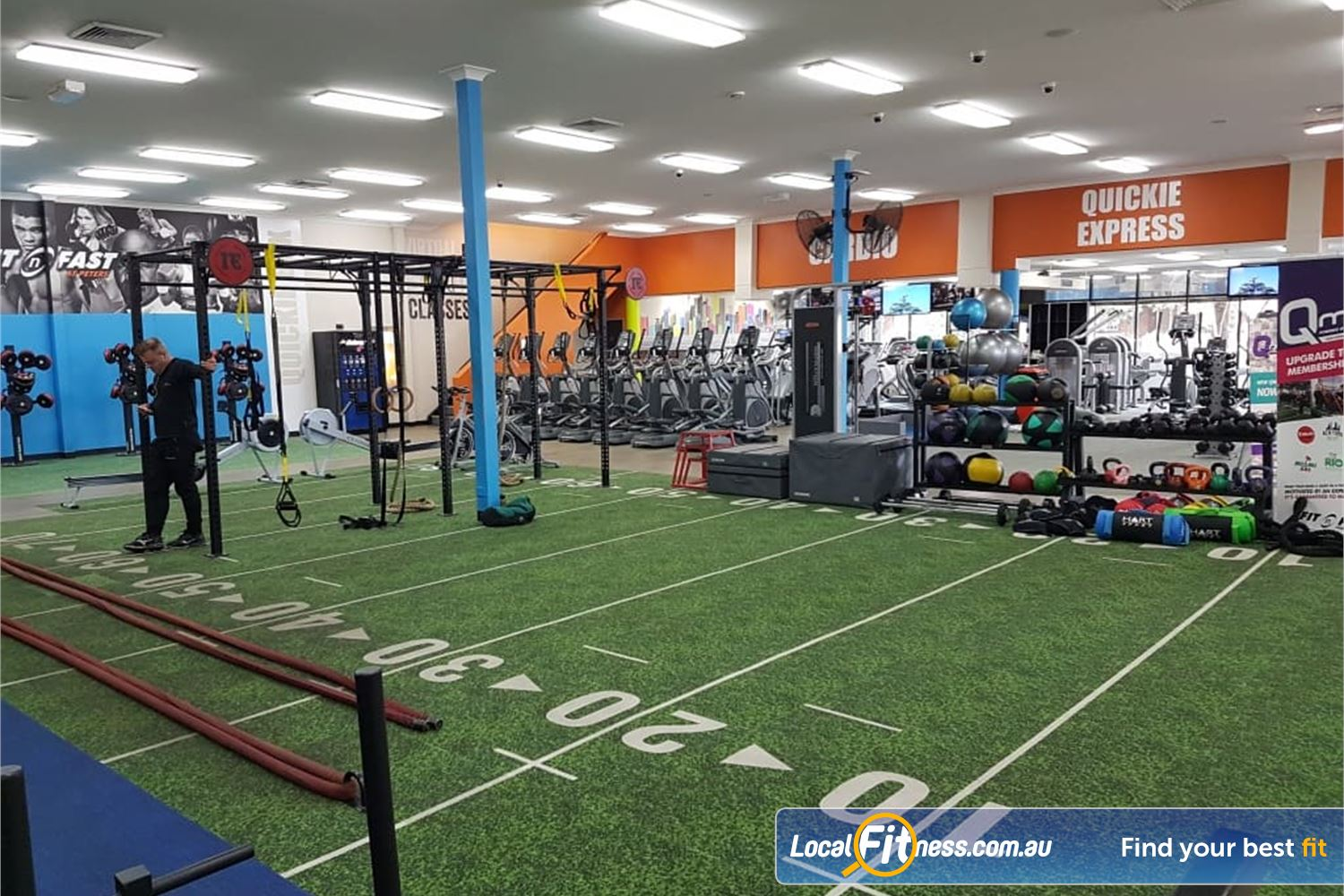 Fit n Fast St Peters Welcome to FNF 24/7 St Peters gym.
