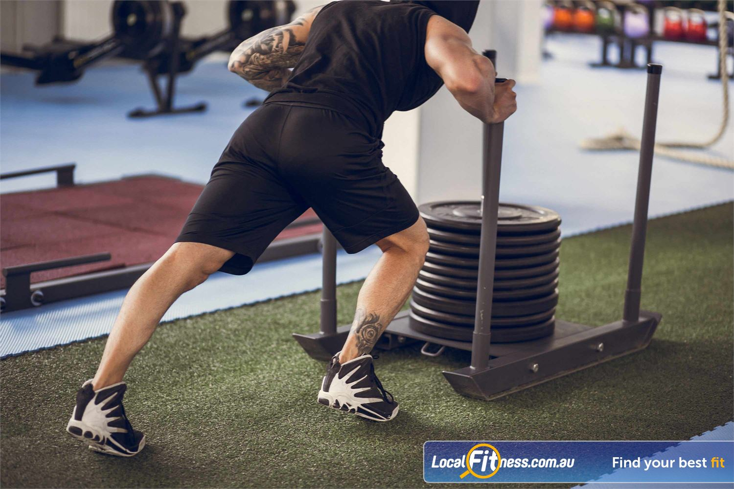 Fit n Fast Near Marrickville Our dedicated St Peters HIIT gym provides QMAX functional training classes.