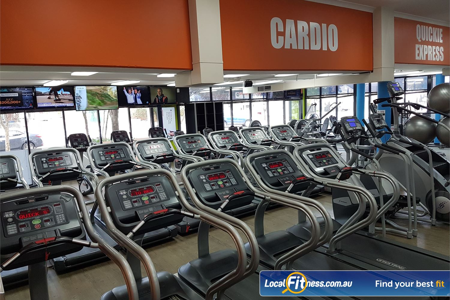 Fit n Fast St Peters Treadmills, cross-trainers, cycle bikes and more.