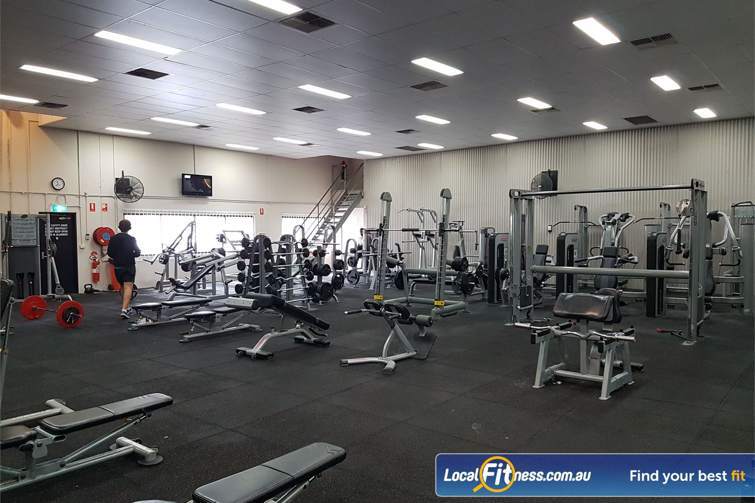 Fit n Fast Near Sydenham Dumbbells, barbells, pin-loading machines and more.