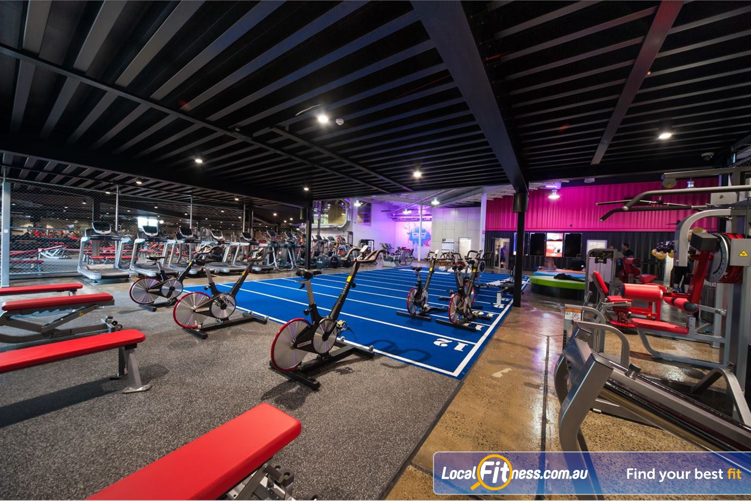 Goodlife Health Clubs Springwood Welcome to the Goodlife Superclub gym in Springwood.
