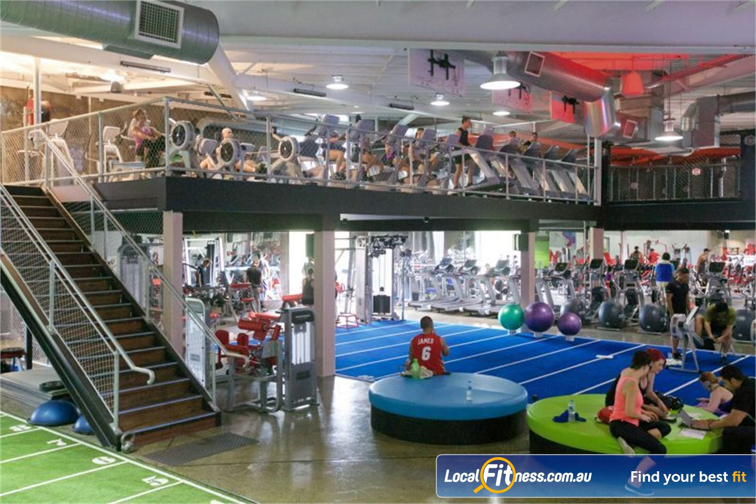 Goodlife Health Clubs Springwood Our Springwood gym provides 3000 sq/m of fitness under one roof.