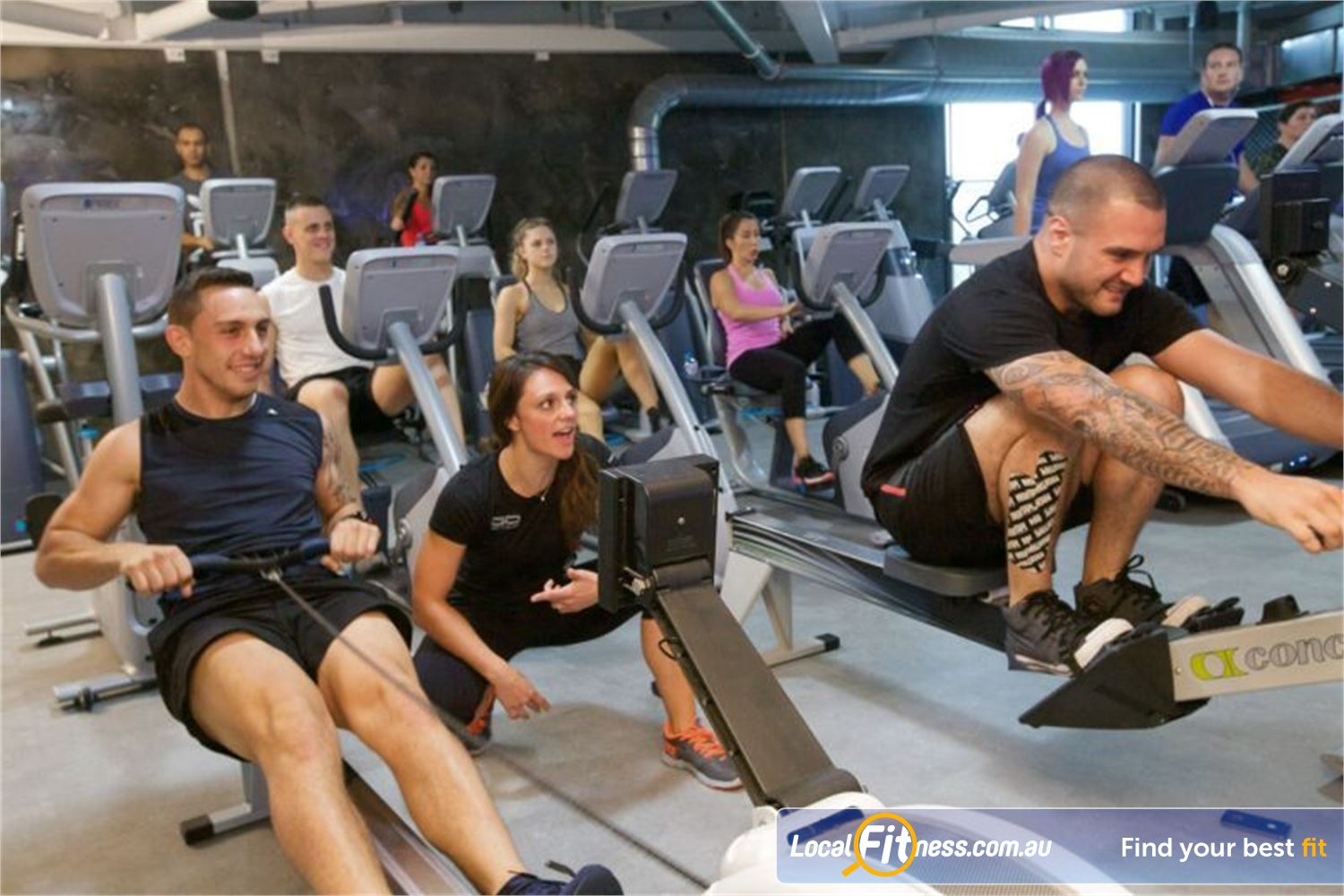 Goodlife Health Clubs Springwood Our Springwood personal trainers can take your cardio to the next level.