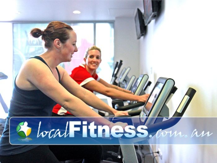 Jetts Fitness Near Kensington State of the art cardio with integrated LCD TV in our Flemington gym.