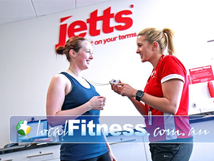 Jetts Fitness Near Travancore Safety first with 24 hour surveillance and emergency button assistance.