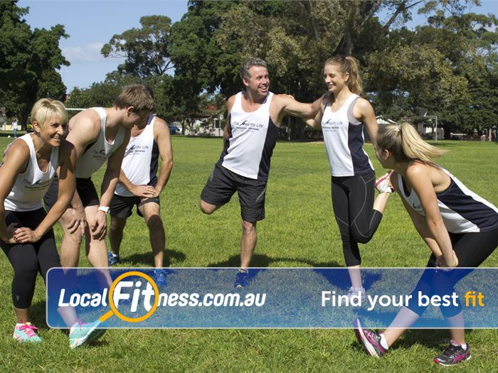 The Healthy Life Personal Training Rosebery At Healthy Life Personal Training Rosebery, we take advantage of the great outdoors!