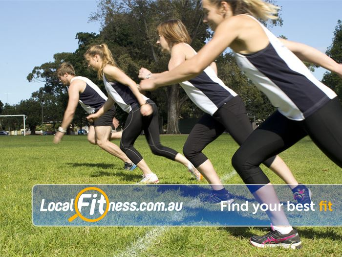 The Healthy Life Personal Training Near Kensington Challenge your fitness with heart pumping functional exercises.