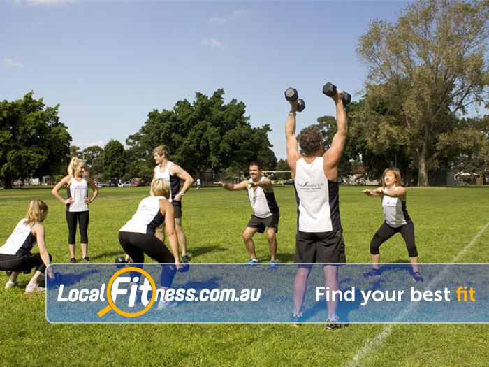 The Healthy Life Personal Training Near Daceyville Rosebery group fitness sessions are fun and challenging.